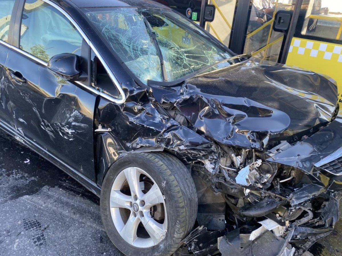 Esenyurt ta kaza geçiren polis memuru için meslektaşları seferber oldu #2