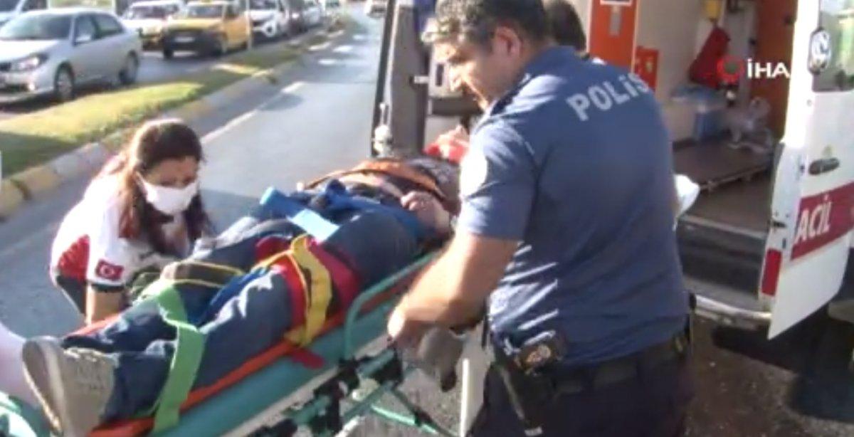 Esenyurt ta kaza geçiren polis memuru için meslektaşları seferber oldu #5