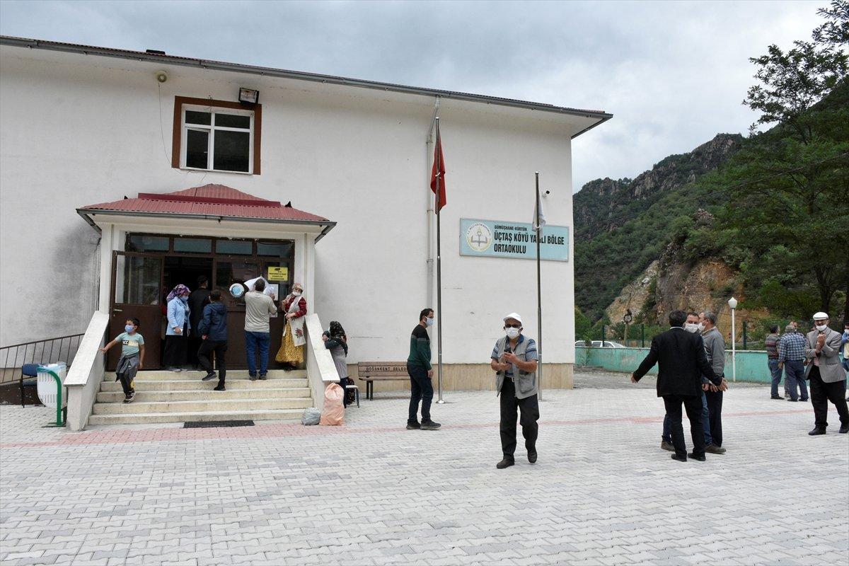 Gümüşhane den ayrılıp Giresun a bağlanmak isteyen 2 köyde referandum #8