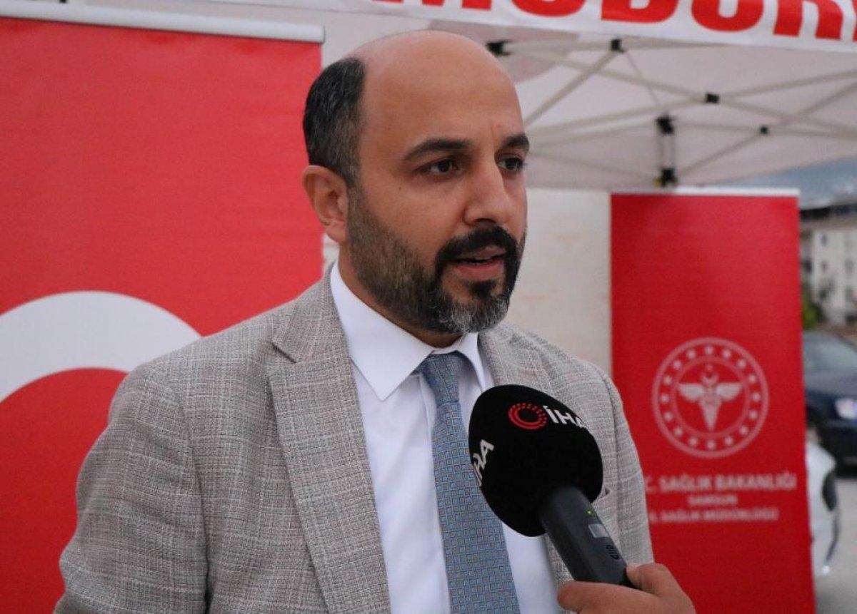 Samsun'da aşıya farkındalık için konvoy düzenlendi  #3