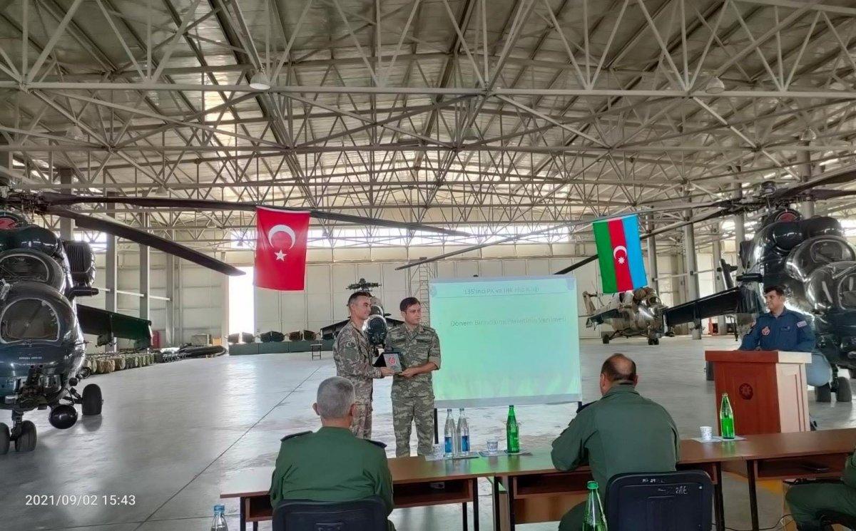 TSK dan Azerbaycan ordusu personeline ileri hava kontrolörü eğitimi #4