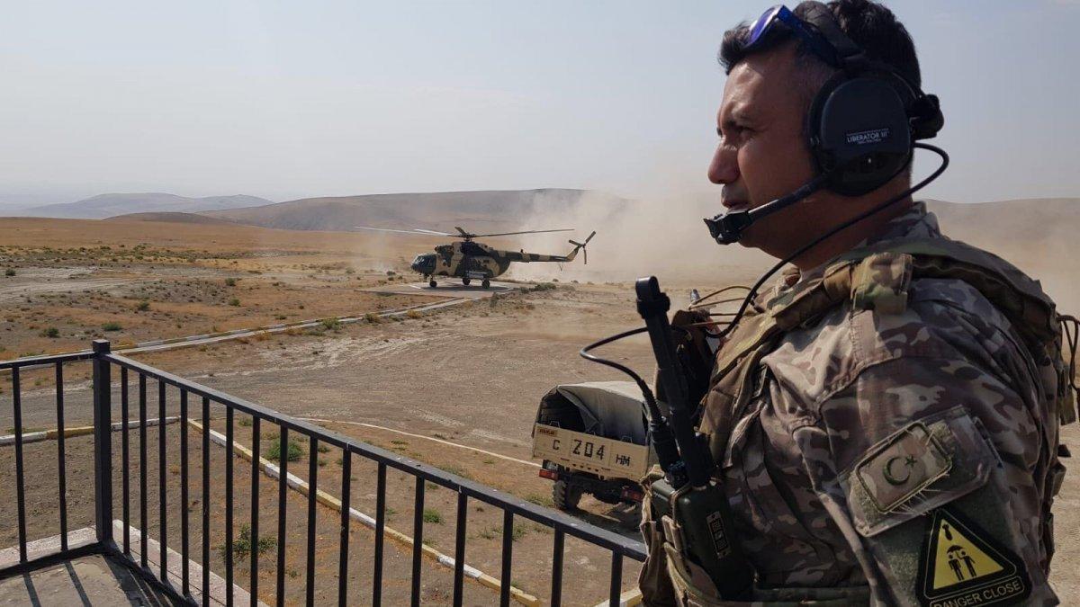 TSK dan Azerbaycan ordusu personeline ileri hava kontrolörü eğitimi #2