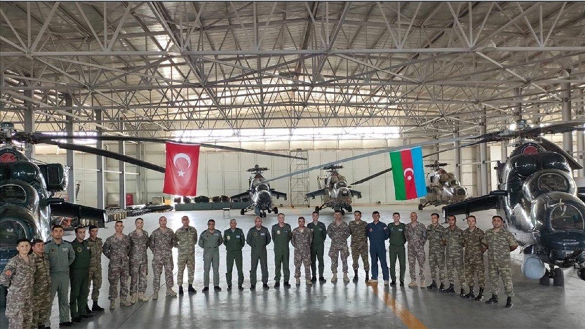TSK dan Azerbaycan ordusu personeline ileri hava kontrolörü eğitimi #1