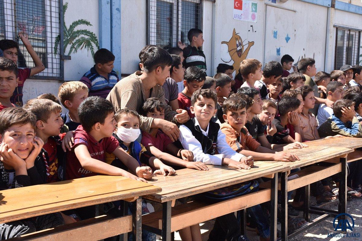 Terörden arındırılan Suriye'nin kuzeyinde, eğitim öğretim yılı başladı #6
