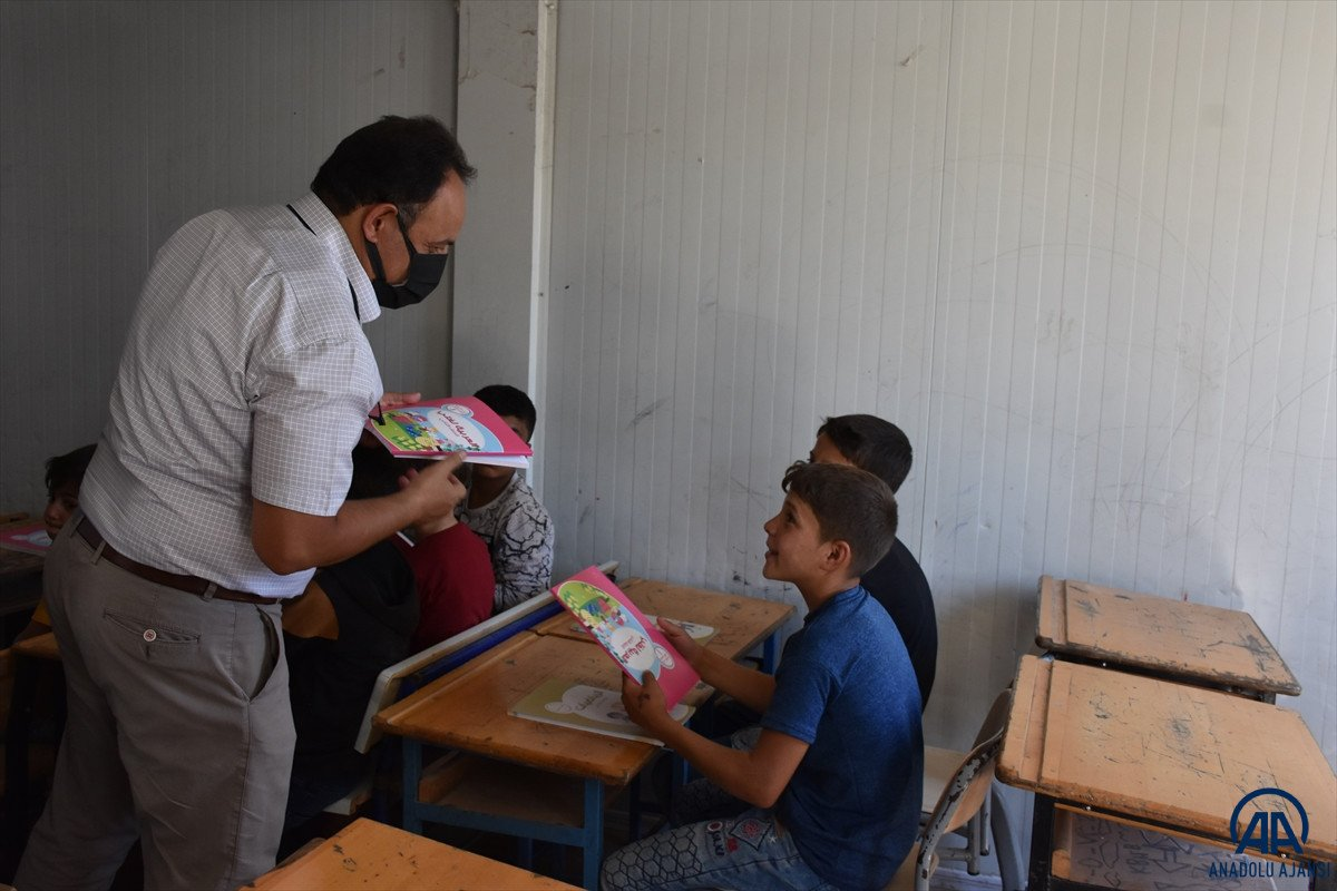 Terörden arındırılan Suriye'nin kuzeyinde, eğitim öğretim yılı başladı #5