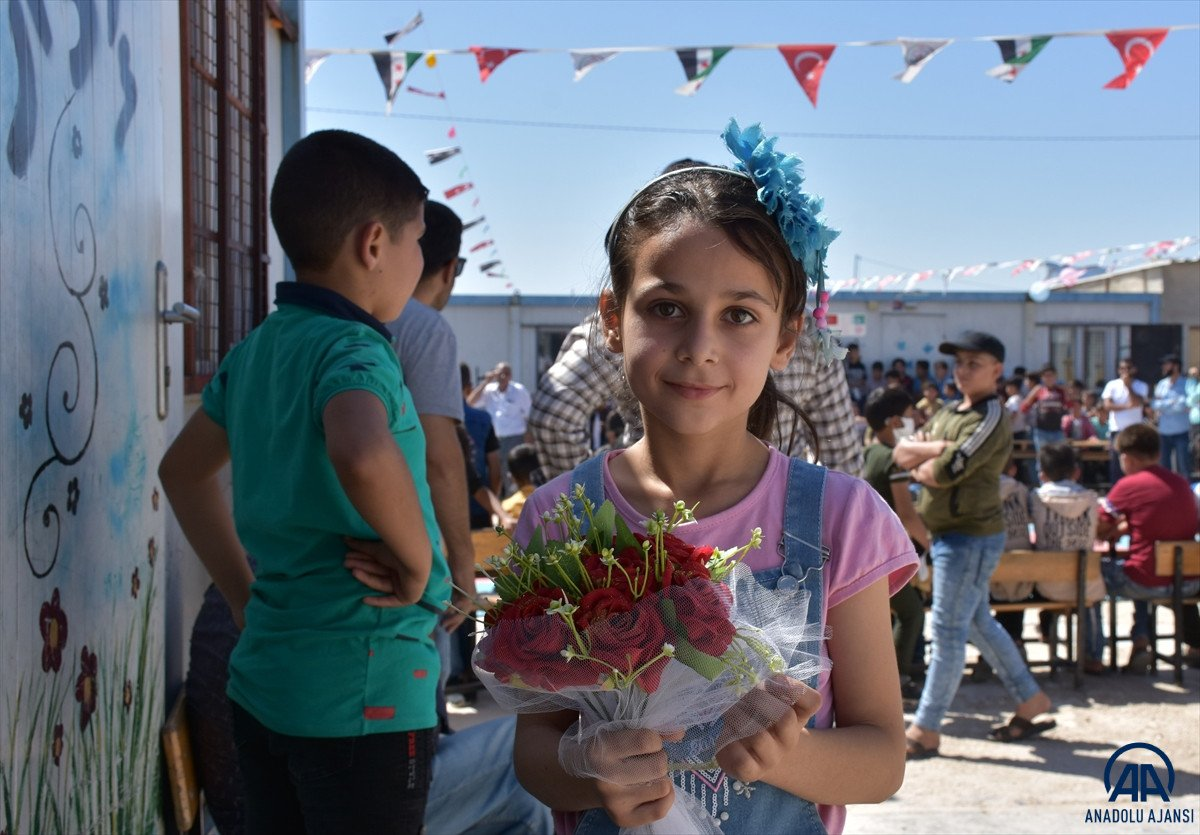 Terörden arındırılan Suriye'nin kuzeyinde, eğitim öğretim yılı başladı #3