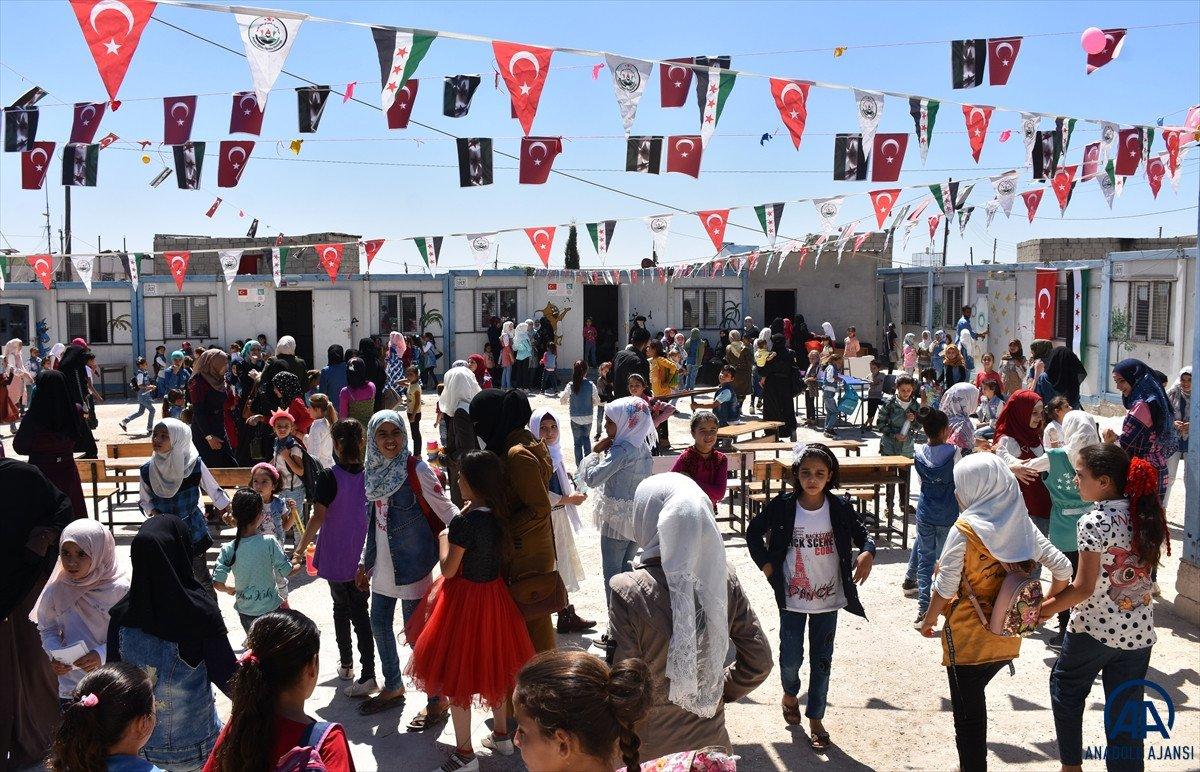Terörden arındırılan Suriye'nin kuzeyinde, eğitim öğretim yılı başladı #2