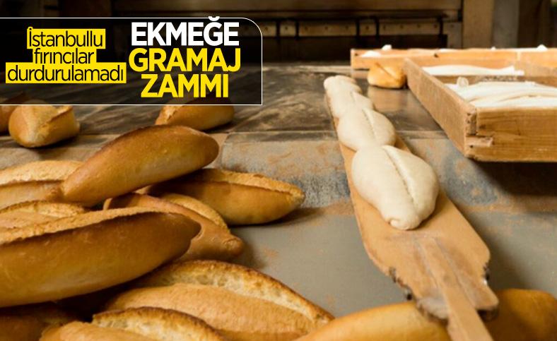 İstanbul'daki bazı fırınlar ekmeğin gramajını artırıp zam yaptı