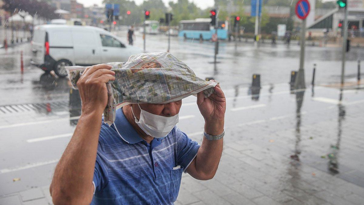 Meteoroloji den Marmara için sağanak ve gök gürültülü sağanak uyarısı #5