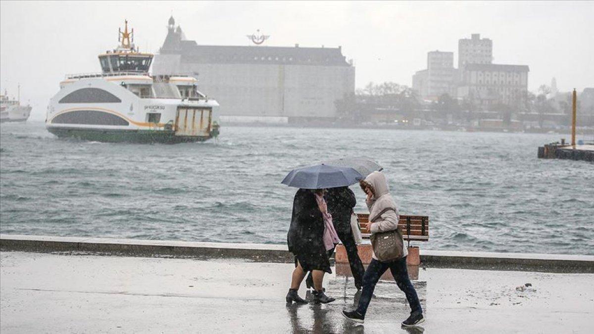 Meteoroloji den Marmara için sağanak ve gök gürültülü sağanak uyarısı #8