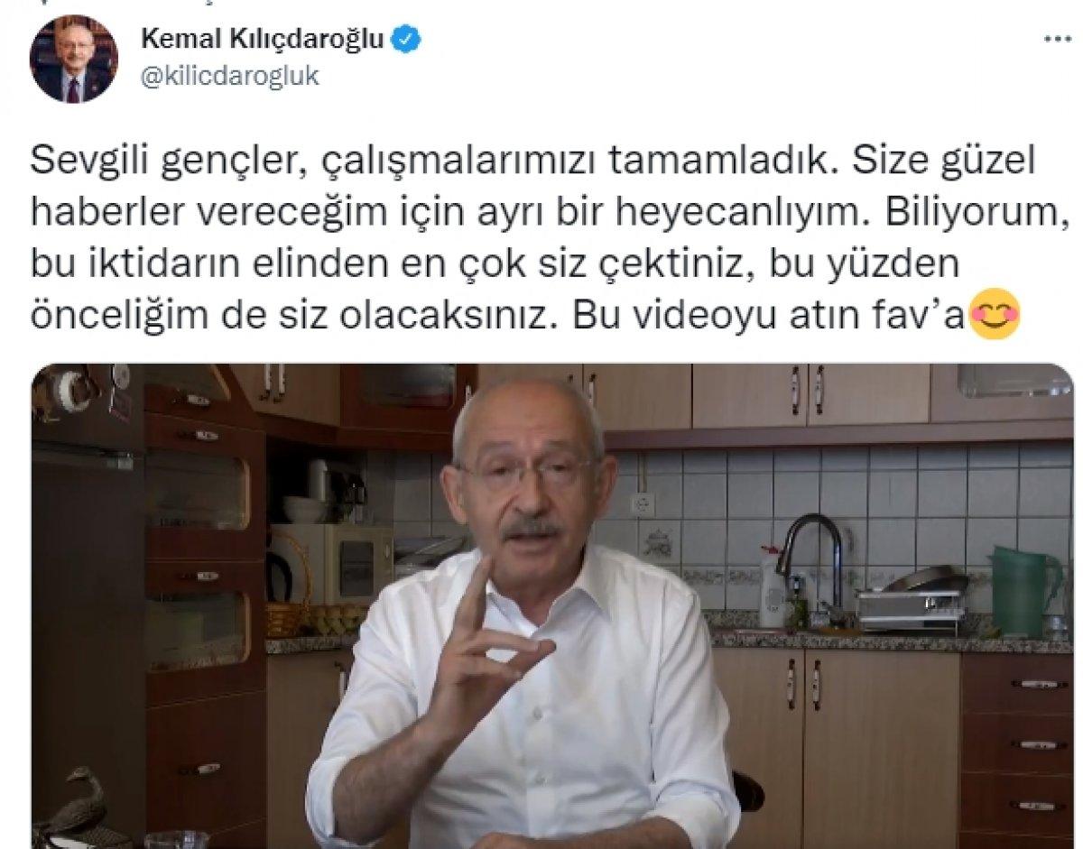 Kemal Kılıçdaroğlu ndan gençlere 6 vaat #2