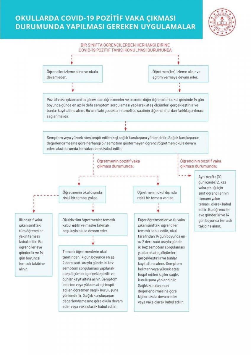 MEB den okullar için koronavirüs rehberi  #2