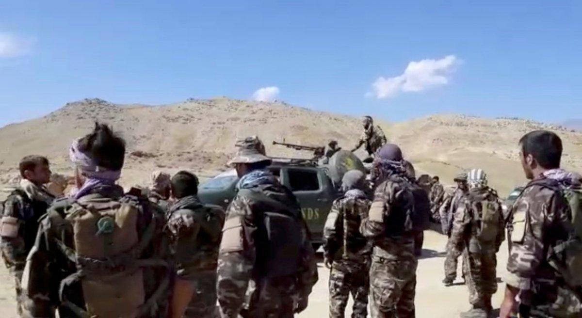 Pencşir güçleri: Yüzlerce Taliban savaşçısını yakaladık #3