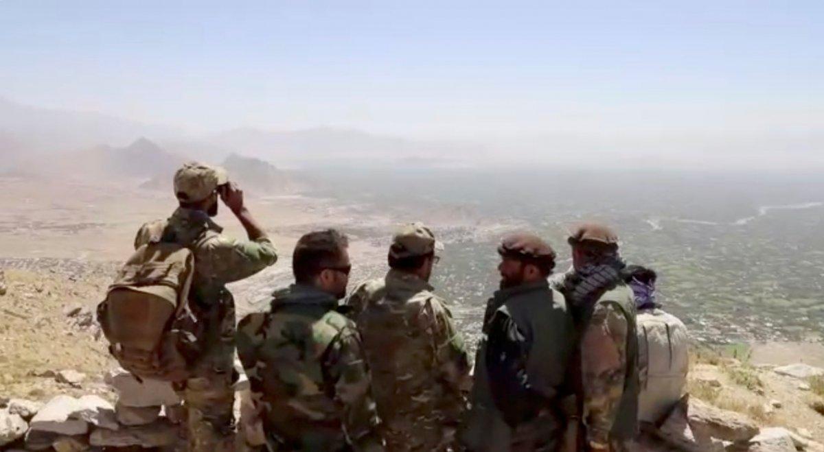 Pencşir güçleri: Yüzlerce Taliban savaşçısını yakaladık #2