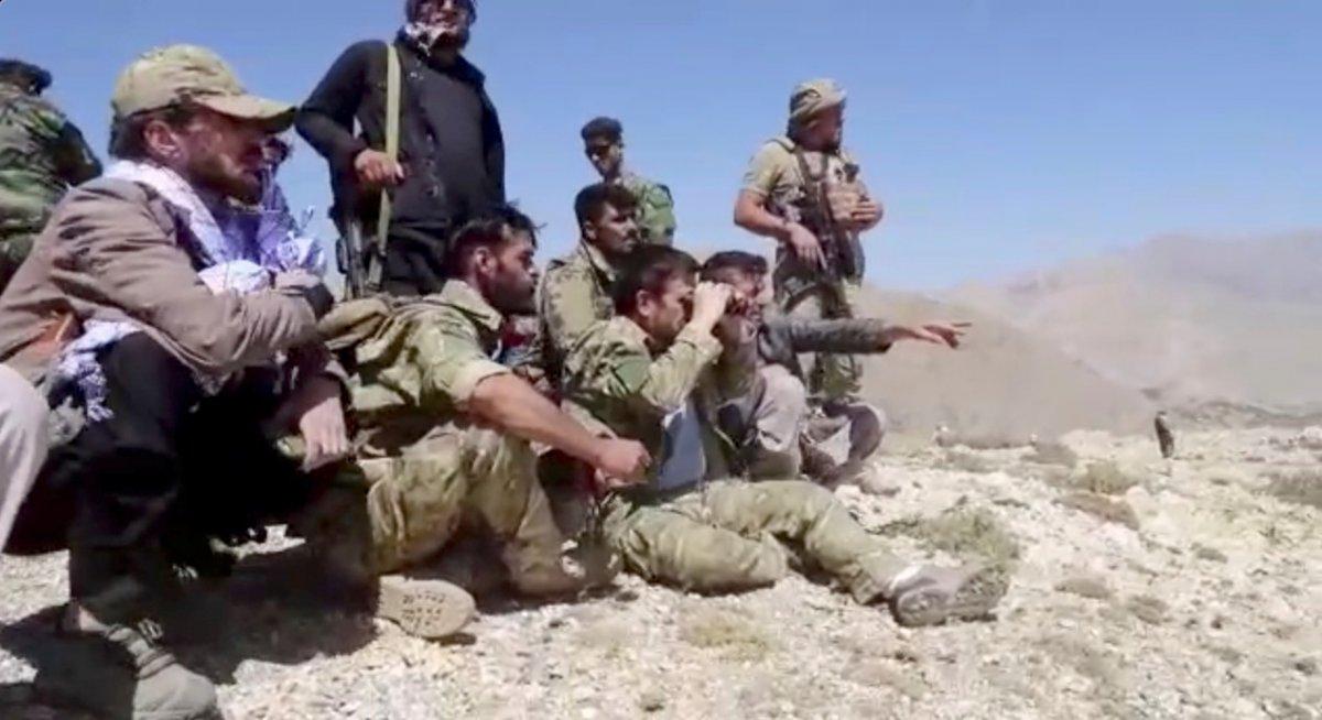 Pencşir güçleri: Yüzlerce Taliban savaşçısını yakaladık #1