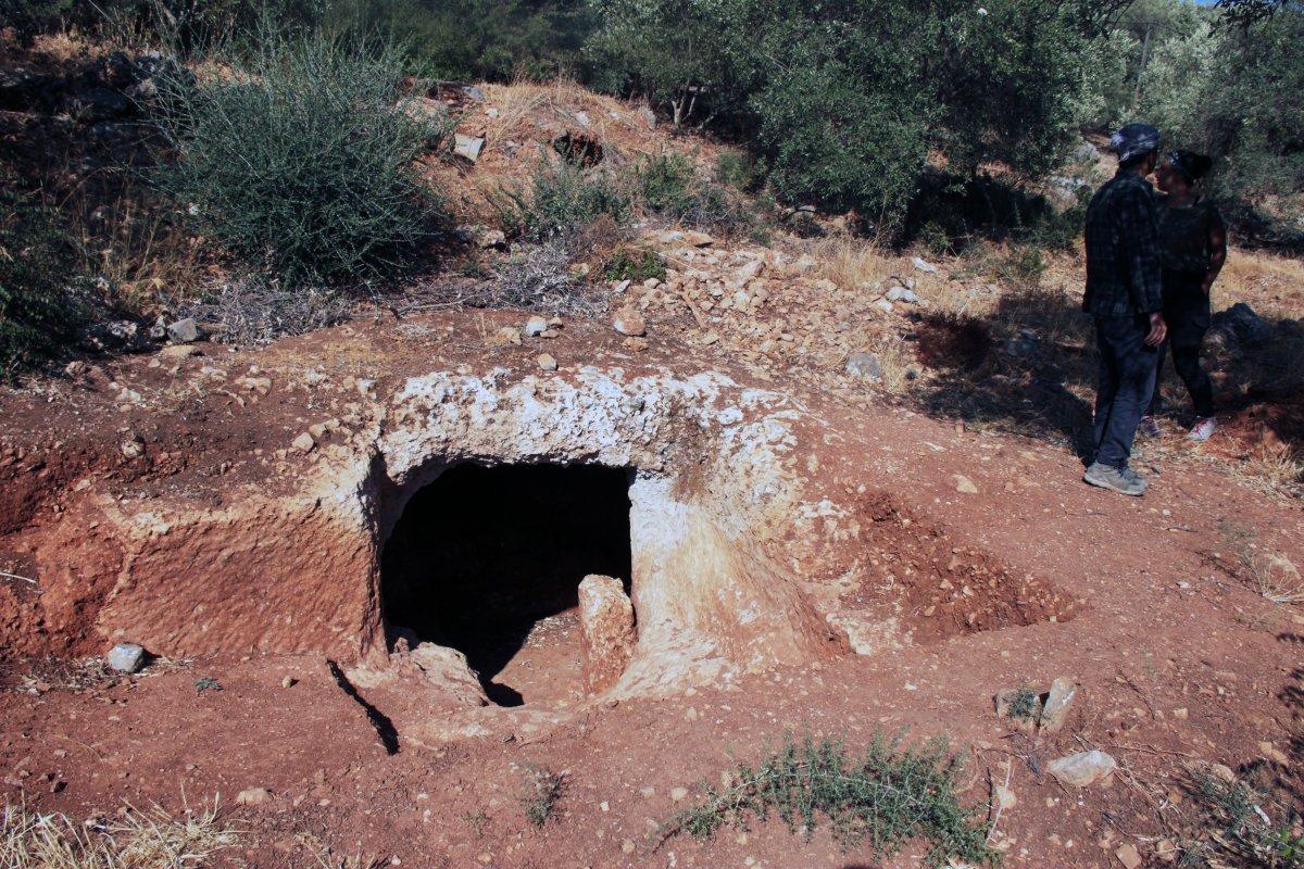 Muğla'nın Ula ilçesindeki kale surları 10 ayda ortaya çıktı #7