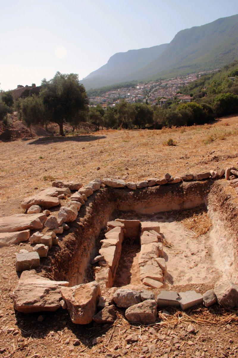 Muğla'nın Ula ilçesindeki kale surları 10 ayda ortaya çıktı #8