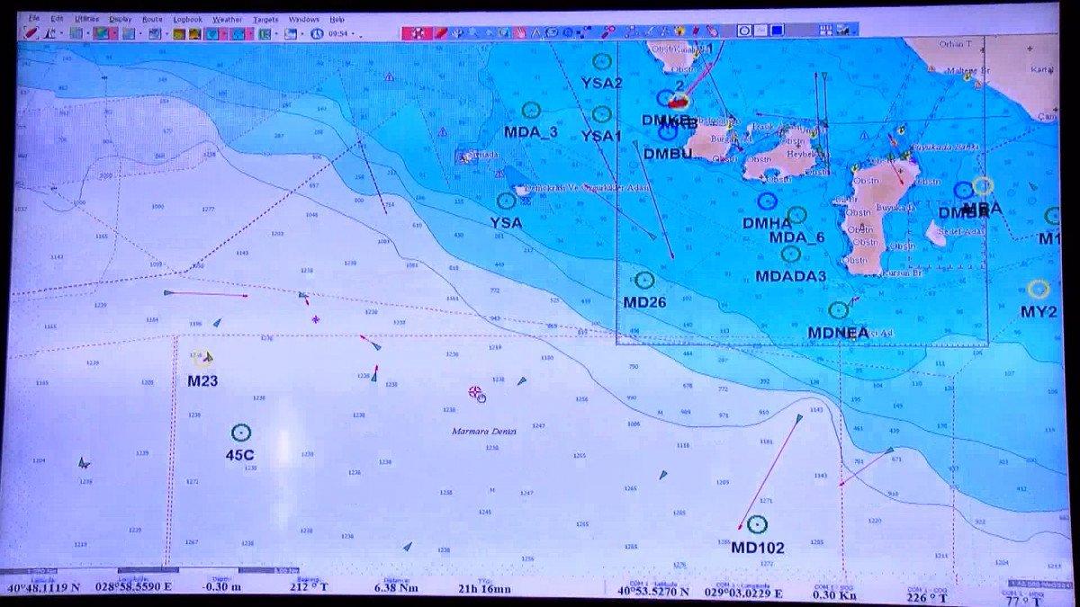 Araştırma gemisi Marmara yı karış karış inceliyor #3