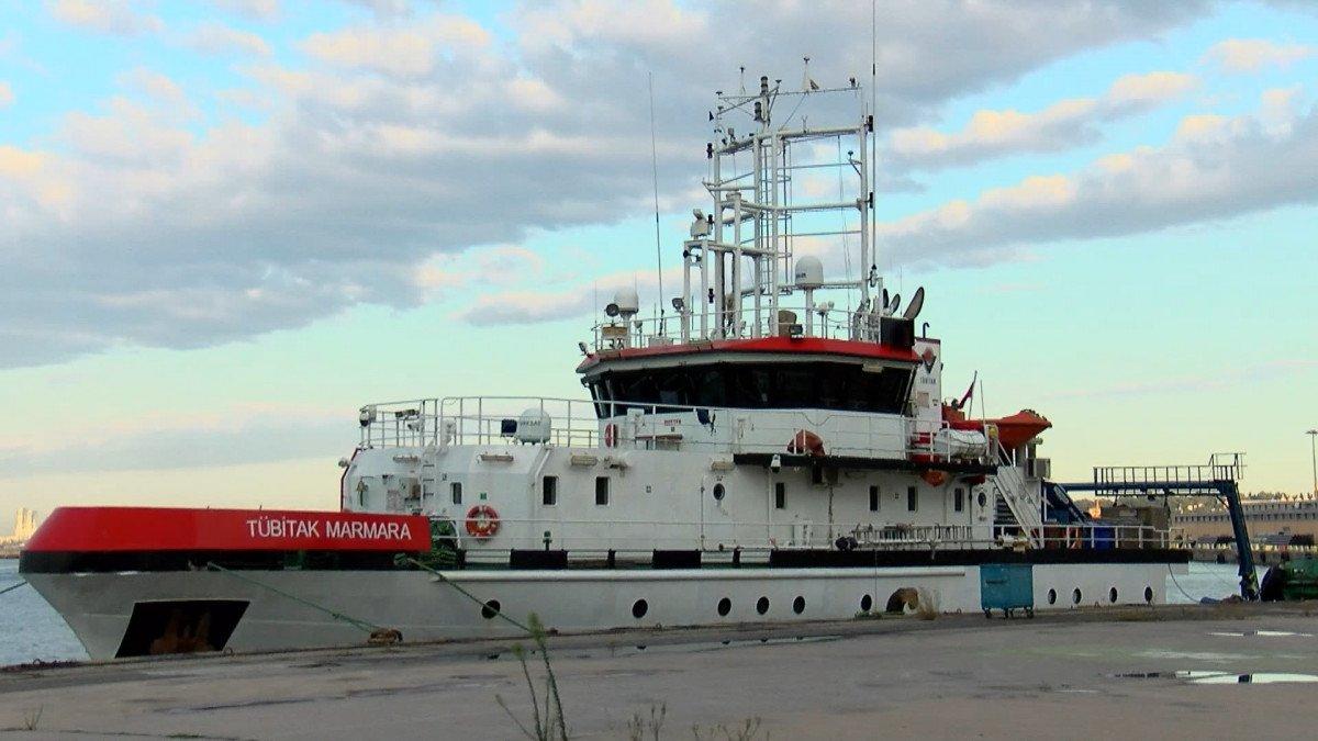 Araştırma gemisi Marmarayı karış karış inceliyor