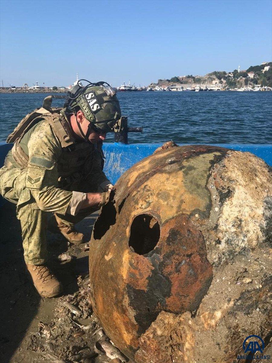 İstanbul Boğazı nda deniz mayını bulundu #1