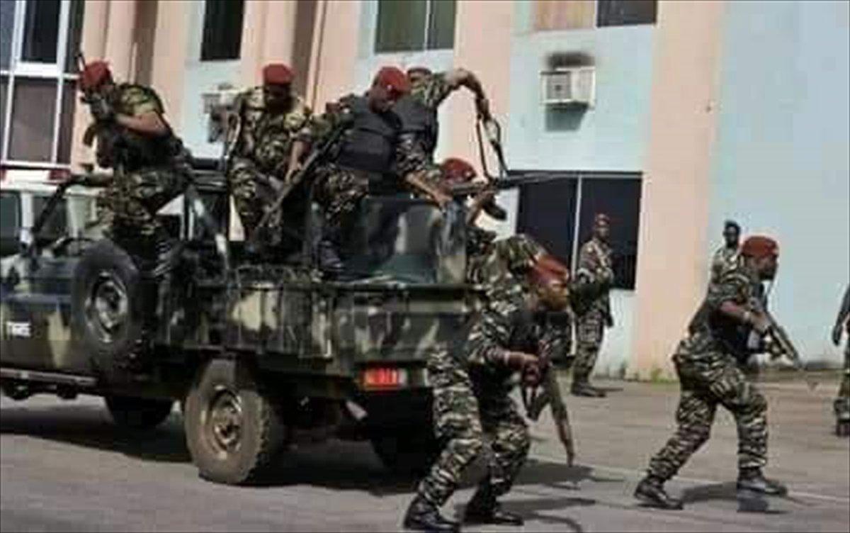 Gine de sokağa çıkma yasağı ilan edildi #3