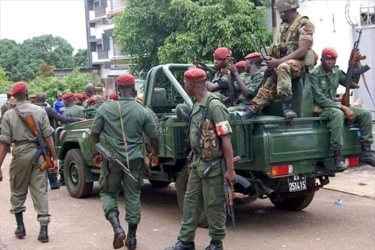 Gine de sokağa çıkma yasağı ilan edildi #2