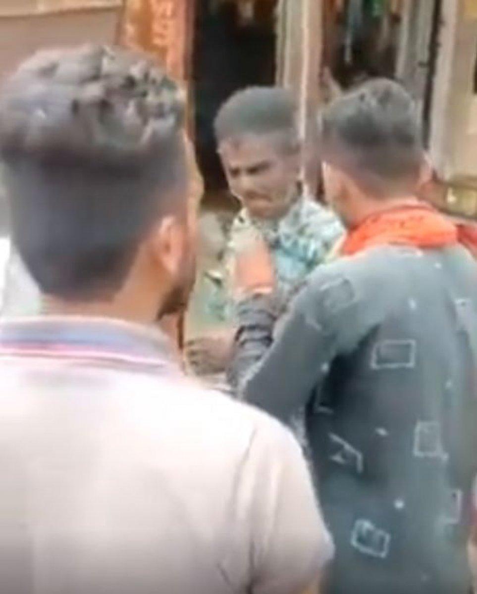 Hindistan da Müslümanlara şiddet görüntüleri #4