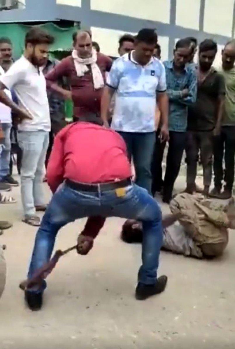 Hindistan da Müslümanlara şiddet görüntüleri #1