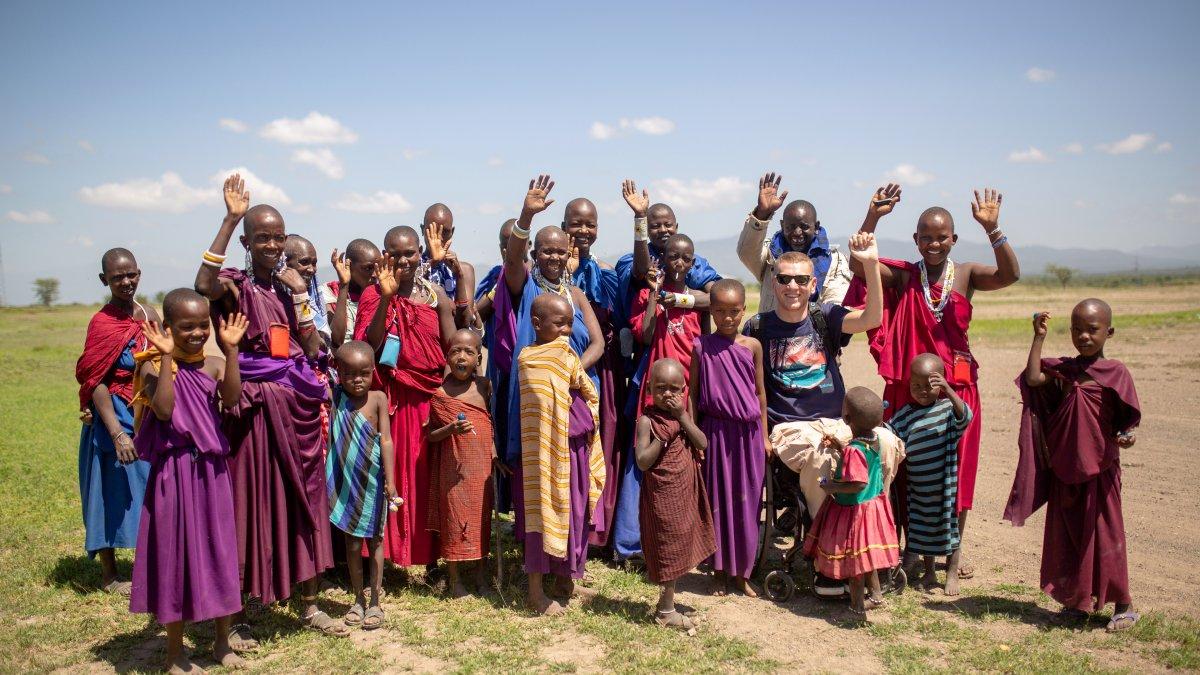 Hırvat seyyah, tekerlekli sandalyesine rağmen dünyayı geziyor #3