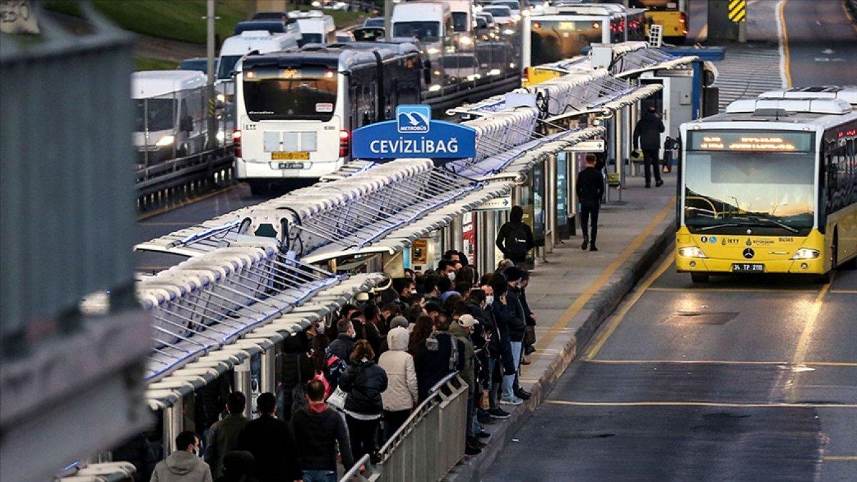 İstanbul da toplu taşımada kış tarifesi başladı #1