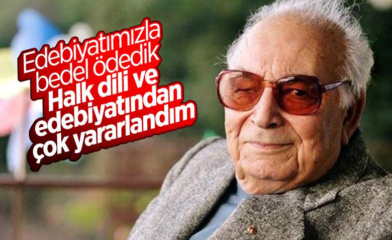 Arşivden Yaşar Kemal söyleşisi: Edebiyatımızla bedel ödedik