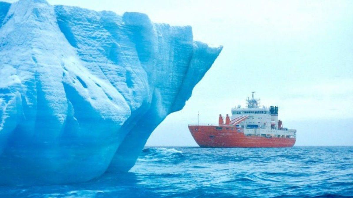 Rusyada her yıl milyarlarca ton buzul eriyor