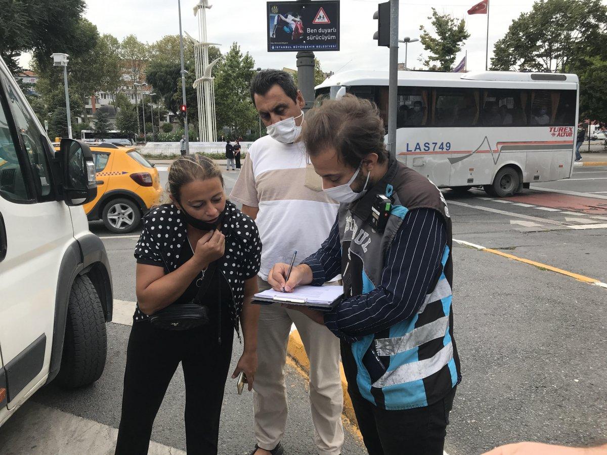 İstanbul da trafik ekiplerinden okul servislerine denetim  #5