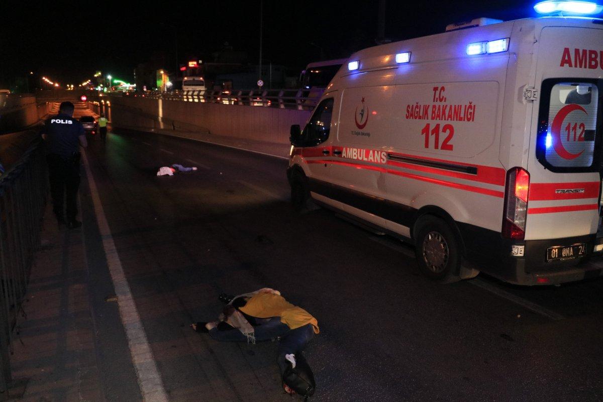 Adana da iki yabancı uyruklu kız, araba çarpması sonucu hayatını kaybetti #1