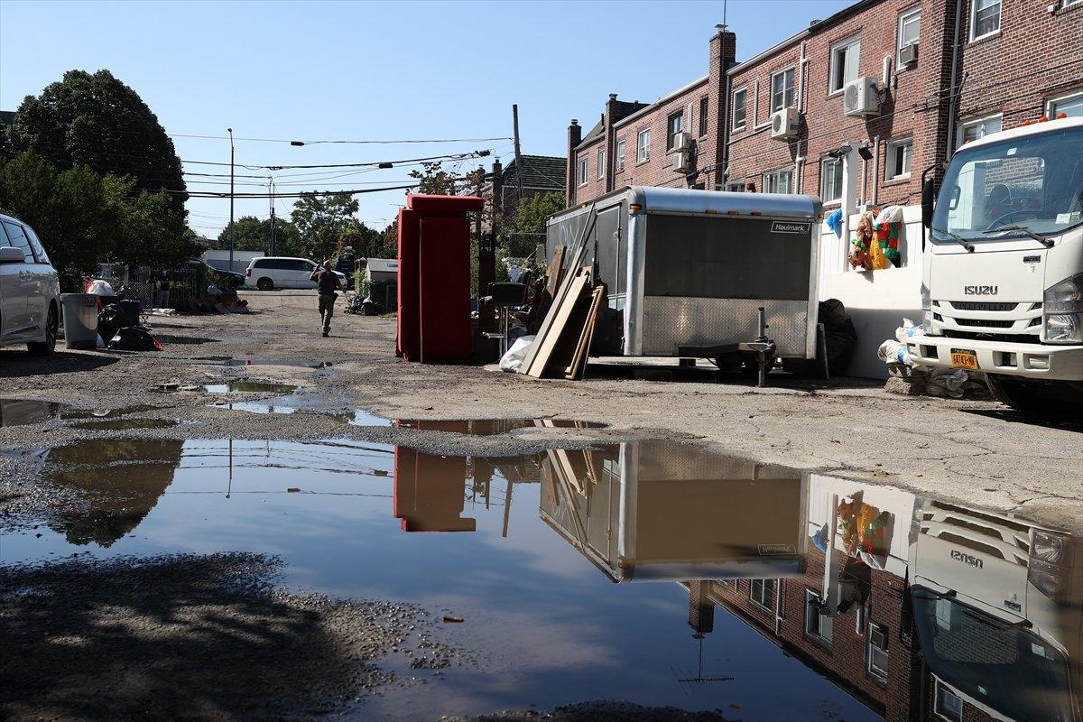 New York ta şiddetli yağış sele neden oldu #10