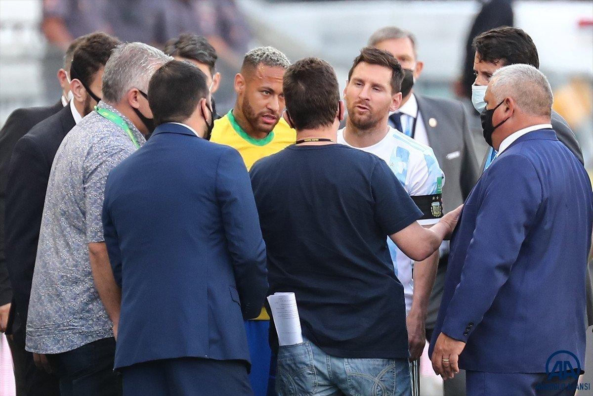 Brezilya-Arjantin maçına soruşturma #1
