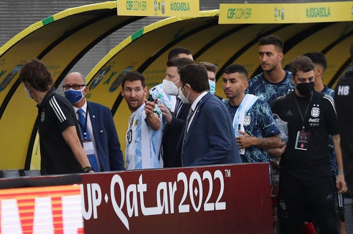 Brezilya-Arjantin maçına soruşturma #2
