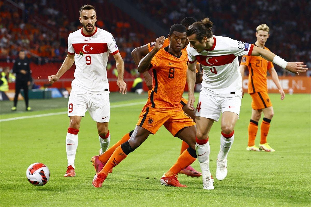 Milli Takım, Hollanda ya farklı yenildi #1