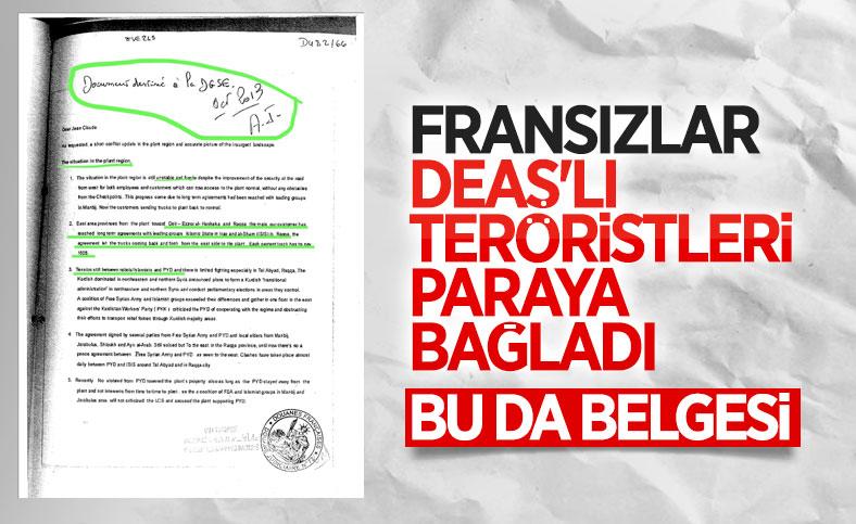 Lafarge'ın DEAŞ ile ilişkisini Fransa istihbaratına bildirdiği belgeler