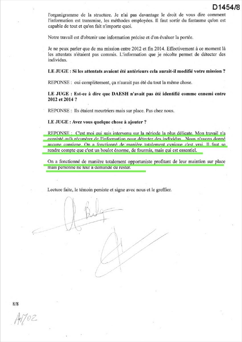 Lafarge ın DEAŞ ile ilişkisini Fransa istihbaratına bildirdiği belgeler #7
