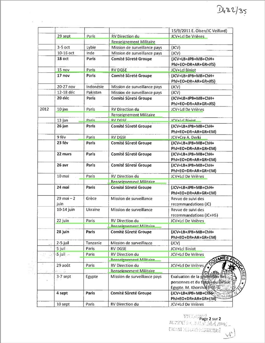 Lafarge ın DEAŞ ile ilişkisini Fransa istihbaratına bildirdiği belgeler #4