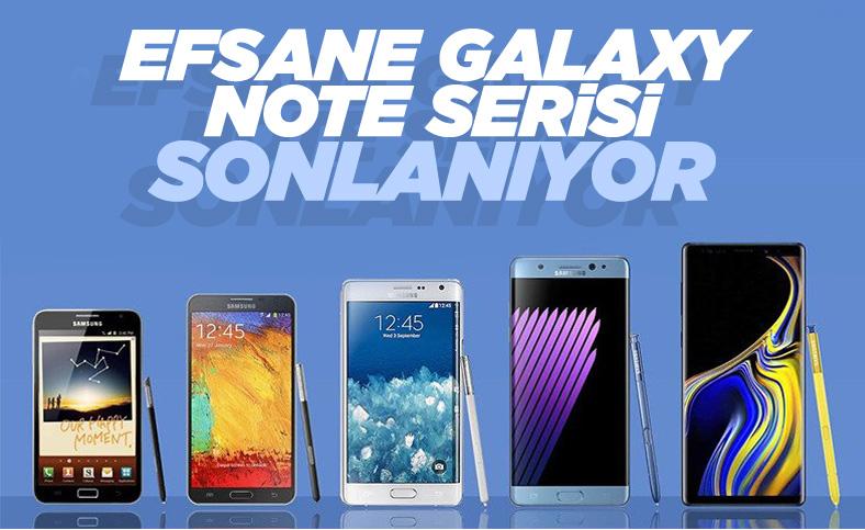 Bir devrin sonu: Samsung, Galaxy Note için başvuru yapmadı