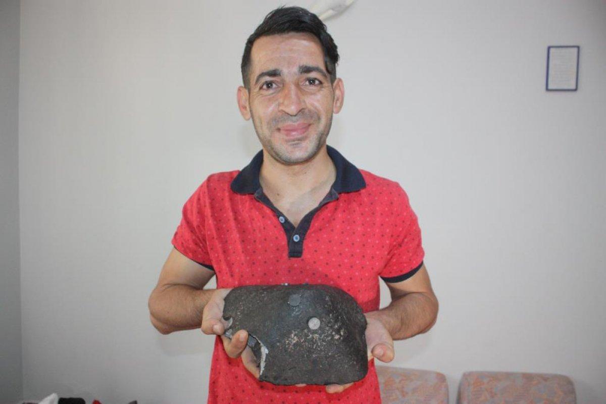 Diyarbakır da aldığı ithal kömürden göktaşı çıktı #1