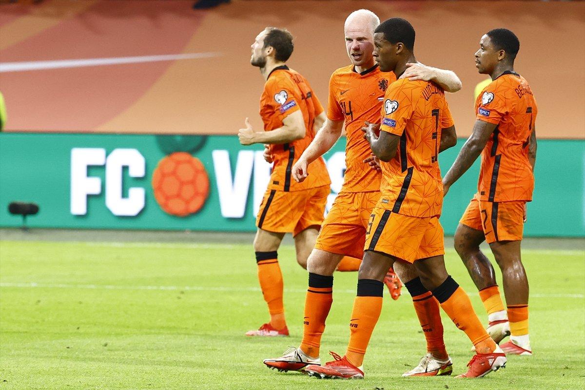 Milli Takım, Hollanda ya farklı yenildi #2