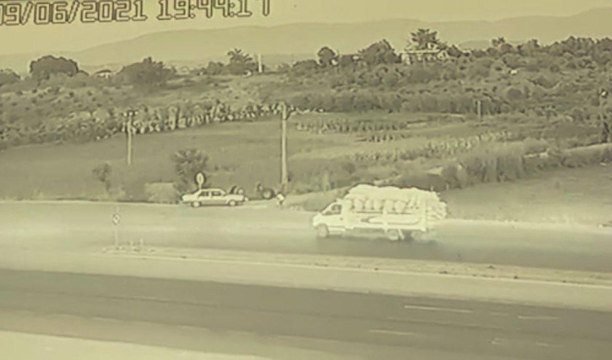 Antalya da kamyon tekerleri dehşet saçtı: Önce ölüm sonra kaza  #6