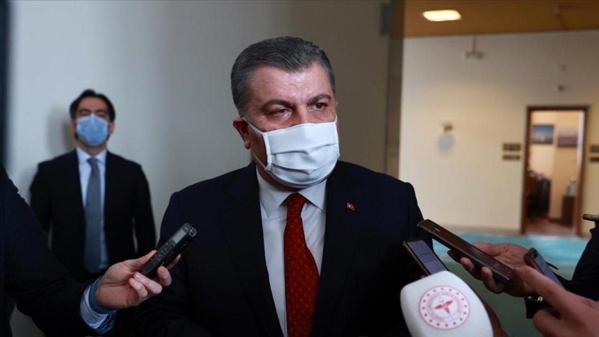 Fahrettin Koca:  Mu  varyantı Türkiye de 2 kişide görüldü #2