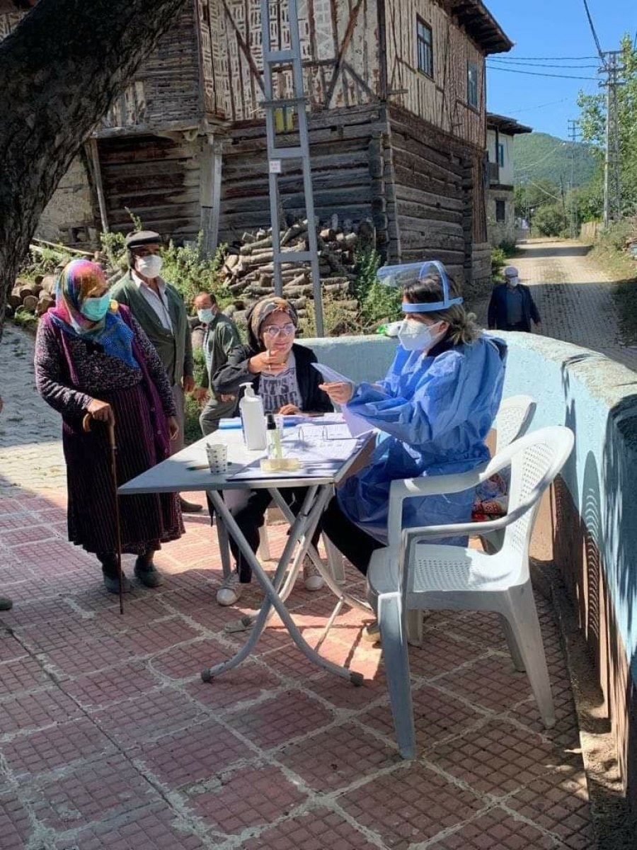 Kastamonu sel mağdurlarına korona aşısı yapıldı #1