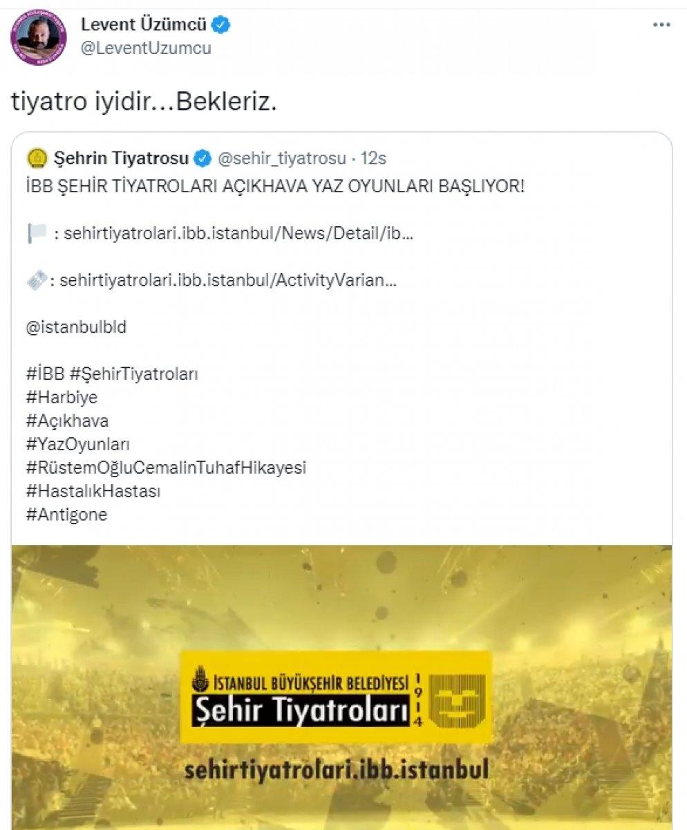 Levent Üzümcü İstanbul Şehir Tiyatroları na geri döndü #3