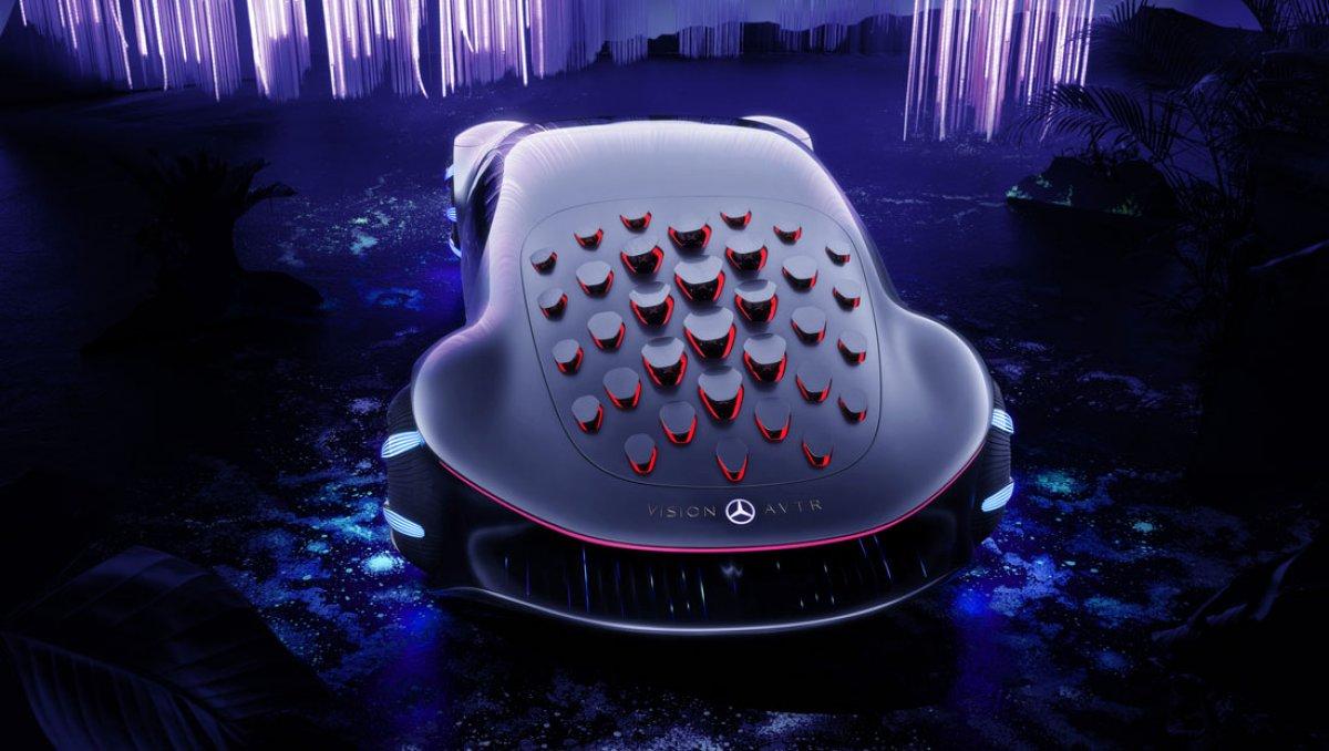 Mercedes, göz hareketi ile araç kontrolü teknolojisini tanıttı #3