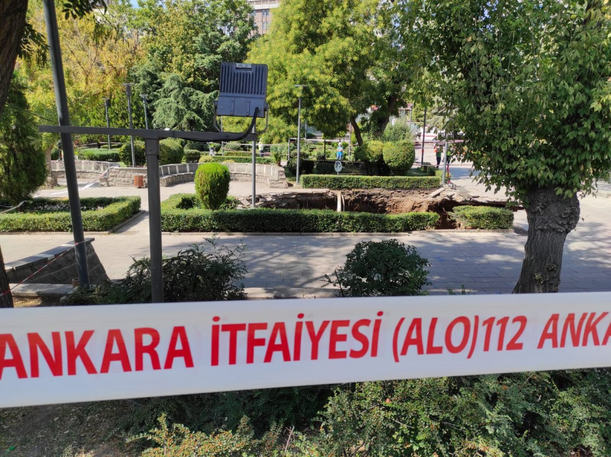 Ankara da metro inşaatında göçük #2